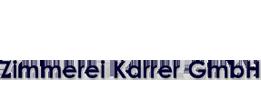 Zimmerei Karrer GmbH