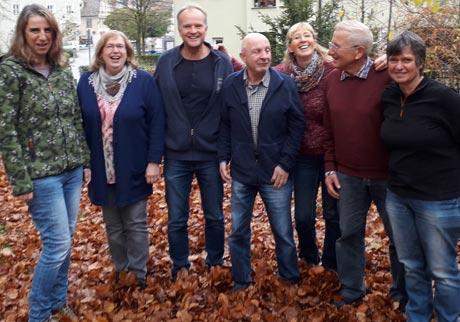 Das Team des Vereins Notausgang Memmingen